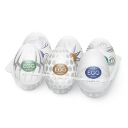 Набор Tenga Egg Hard Boild Pack (6 яиц)