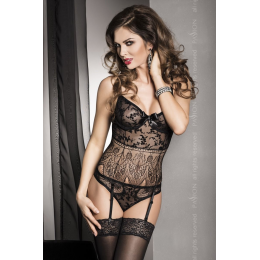 FABRA CORSET black S/M - Passion