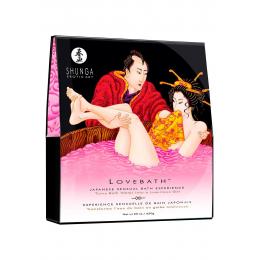 Гель для ванны Shunga LOVEBATH - Dragon Fruit (650 гр), делает воду ароматным желе со SPA еффектом