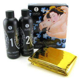 Гель для массажа Shunga ORIENTAL BODY-TO-BODY - Exotic Fruits (2 x 225 мл)